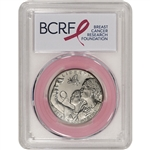 2018-D US Breast Cancer Commemorative BU Half Dollar PCGS MS70 First Strike Pink