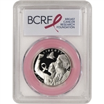 2018-S US Breast Cancer Commem Proof Half Dollar PCGS PR69 First Strike Pink
