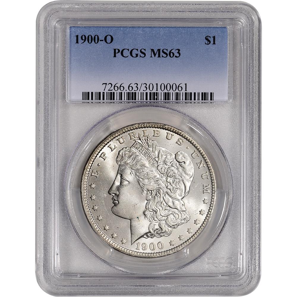 NGC MS63 1900-O US Morgan Silver Dollar $1