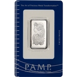 20 gram Platinum Bar - PAMP Suisse - Fortuna - 999.5 Fine in Assay