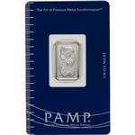 5 gram Platinum Bar - PAMP Suisse - Fortuna - 999.5 Fine in Sealed Assay