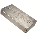 100 oz. Silver Bar - Englehard (Extruded) .999 Fine