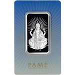 1 oz. Silver Bar - PAMP Suisse - Lakshmi - .999 Fine in Sealed Assay
