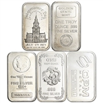 1 oz Silver Bar - Random Brand Secondary Market .999 Fine