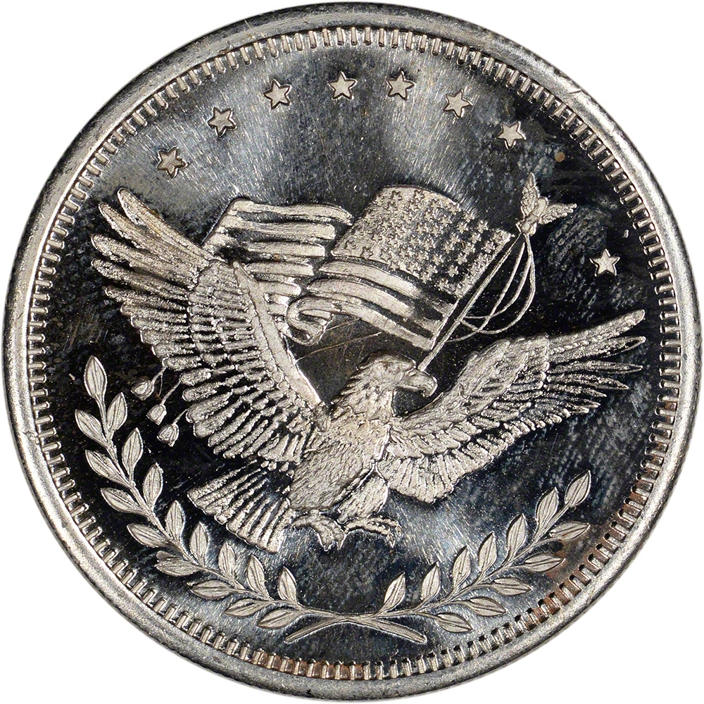 1 Oz Silver Round American Pacific Mint Apm Eagle
