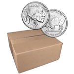1 oz Silver Round CNT Buffalo Design .9999 Fine Sealed Box of 500