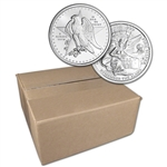 1 oz. Golden State Mint Silver Round Texas Commem .999 Fine Sealed Box of 500