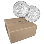 1 oz. Golden State Mint Silver Round Trade Dollar .999 Fine Sealed Box of 500