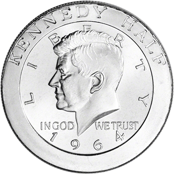 1 oz. Highland Mint Silver Round - Kennedy Half Dollar Design .999+ Fine