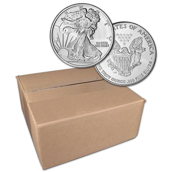 1 oz. Highland Mint Silver Round Walking Liberty .999 Sealed Box of 500