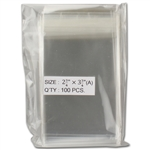 Plastic Coin Sleeve - 2.75 x 3.75 - Pack of 100