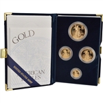 2000 American Gold Eagle Proof Four-Coin Set