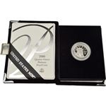 2000-W American Platinum Eagle Proof 1/4 oz $25 in OGP