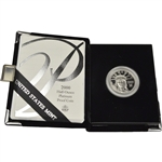 2000-W American Platinum Eagle Proof 1/2 oz $50 in OGP