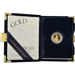 2001-W American Gold Eagle Proof (1/10 oz) $5 in OGP