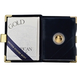 2003-W American Gold Eagle Proof (1/10 oz) $5 in OGP