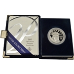 2003-W American Platinum Eagle Proof 1 oz $100 in OGP