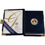 2005-W American Gold Eagle Proof (1/10 oz) $5 in OGP