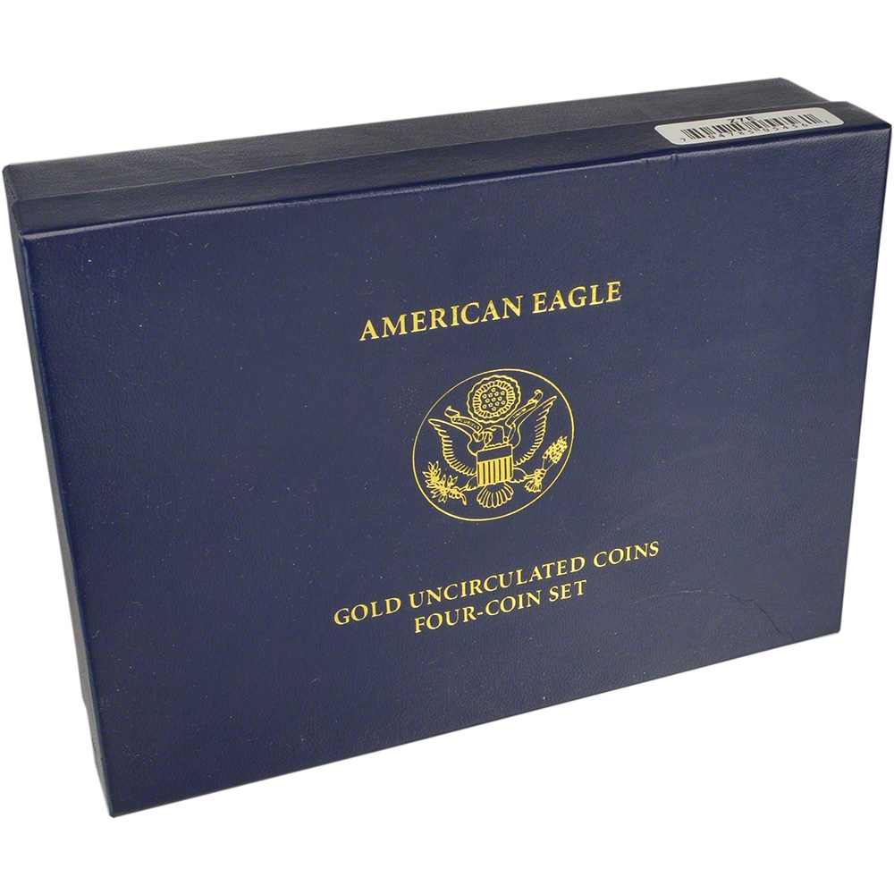 2007 W 1 OUNCE GOLD UNCIRCULATED BURNISHED OGP BOX WITH PAPER NO COIN MINT