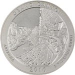 2010-P US America the Beautiful 5 oz. Silver Uncirculated Coin - Grand Canyon