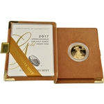 2017-W American Gold Eagle Proof 1/2 oz $25 in OGP