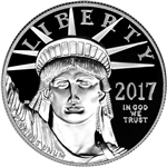 2017-W American Platinum Eagle Proof (1 oz) $100 (17EJ) in OGP