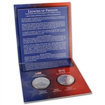 2003 US Legacies of Freedom Silver Bullion Coin Set