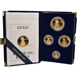 1988 American Gold Eagle Proof Four-Coin Set
