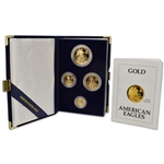 1991 American Gold Eagle Proof Four-Coin Set