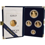 1992 American Gold Eagle Proof Four-Coin Set