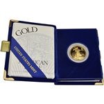 1994-W American Gold Eagle Proof 1/2 oz $25 in OGP