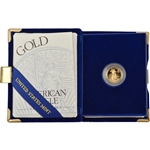 1994-W American Gold Eagle Proof (1/10 oz) $5 in OGP