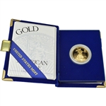 1996-W American Gold Eagle Proof 1/2 oz $25 in OGP