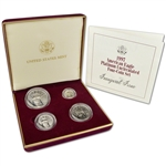 1997 American Platinum Eagle Four-Coin Set in OGP