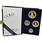 1997 American Gold Eagle Proof Four-Coin Set