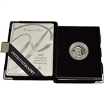 1997-W American Platinum Eagle Proof 1/4 oz $25 in OGP