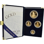 1998 American Gold Eagle Proof Four-Coin Set