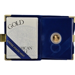 1998-W American Gold Eagle Proof (1/10 oz) $5 in OGP