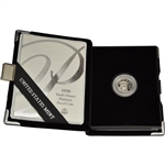 1998-W American Platinum Eagle Proof 1/10 oz $10 in OGP