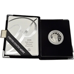1999 W American Platinum Eagle Proof 1/2 oz $50 in OGP