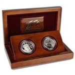 2007 American Platinum Eagle 10th Anniversary Two-Coin Set