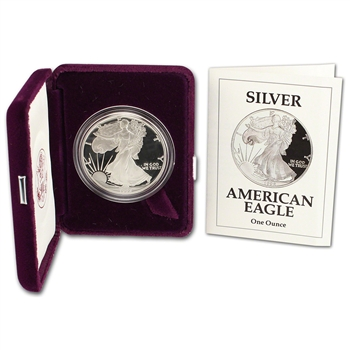 1992-S American Silver Eagle Proof