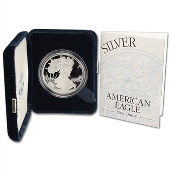 2003-W American Silver Eagle Proof