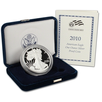 2010-W American Silver Eagle Proof