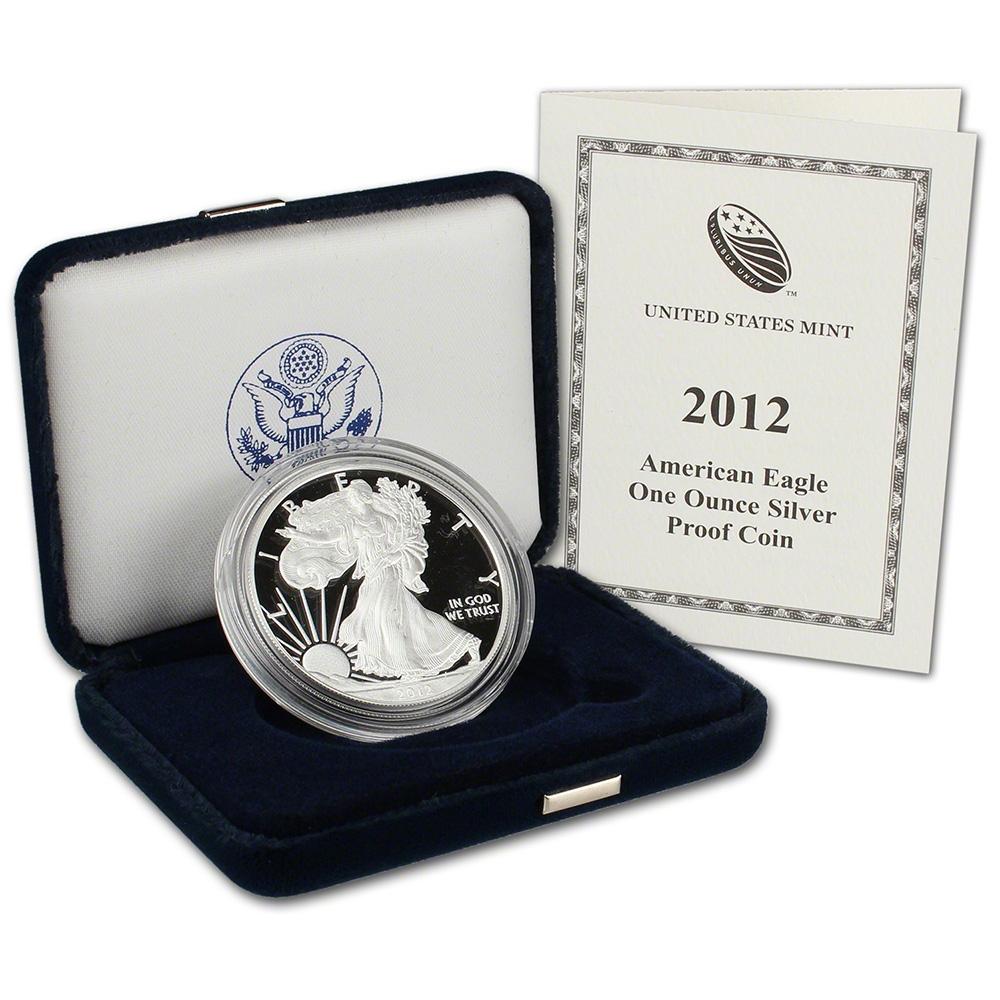 2012 W American Silver Eagle Proof