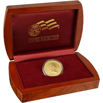 2007-W US First Spouse Gold (1/2 oz) Uncirculated $10 Thomas Jefferson's Liberty