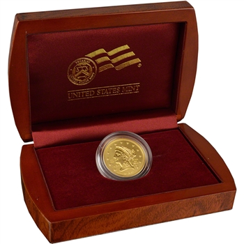 2010-W US First Spouse Gold (1/2 oz) Uncirculated $10 - James Buchanan's Liberty