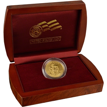 2010-W US First Spouse Gold (1/2 oz) Uncirculated $10 - Jane Pierce