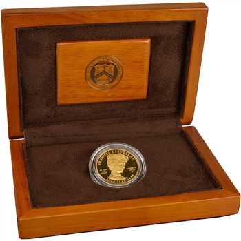 2012-W US First Spouse Gold 1/2 oz Proof $10 - Frances Cleveland 1st Term