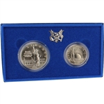 1986 US Statue of Liberty 2-Coin Commemorative BU Set